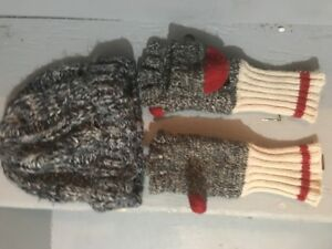 Size 4-5 Toque + Gloves Lot