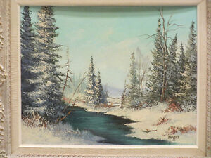 Peter Etril Snyder Original Oil Painting