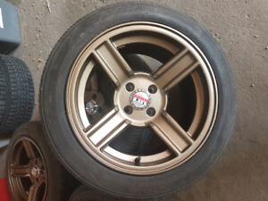 15 inch Phatfux Rims and tires