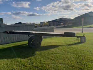 FOR SALE: Used utility trailer (ski-doo, lawn tractor, etc.)