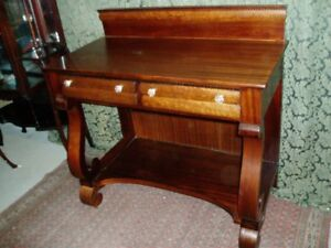 One of a Kind Antique Empire Server Buffet