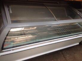 Chest freezer/ jumbo commercial display shop freezer (used)