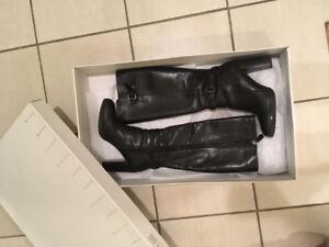 Geox Black Tall  boots size 6