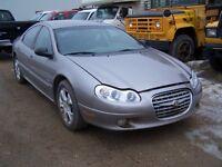 1999 CHRYSLER LHS - Very Good 255/55 17 Inch Tires