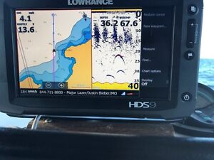 LOWRANCE hds 9 and extras