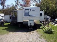 Skyline Nomad towable 40' travel/park model trailer custom