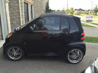 2009 Smart Fortwo Passion Cabriolet Convertible Brabus Trim