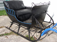 Antique Courting Sleigh