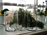 ANNE NILSON HAND MADE VASES - PERFECT - 3 PIECES