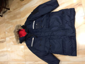 Extreme-Cold-Weather Parka Peerless Garments Blue Navy
