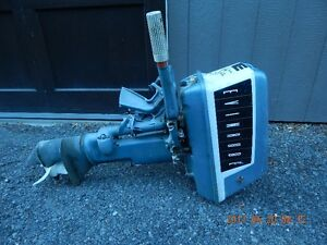 10HP Evinrude outboard motor