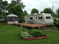 FOR SALE: 2003 26 foot Thumper (R- Vision) Trailer AND lot