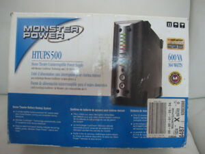 GARAGE CONTENT MOVING SALE- Monster Power Backup for Audio Video