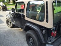 1999 jeep tj running as is $1500 or trade
