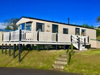Static caravan for sale at Wemyss Bay holiday park near Largs Ayr Saltcoats Stevenson