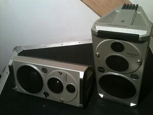 Rare! Technics SB-F20 3 way Monitor Speakers $120 Négo.