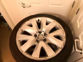 """19"""" BMW wheels. Legal tyres bmw insignia"""