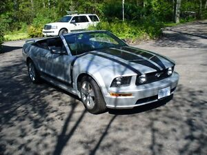 2006 Ford Mustang Boss 4.0L Silver Bullet Convertible $17,500