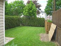 Logement principal  6 pcs avec plancher insonorisé dans cottage