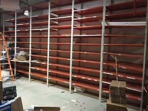 Commercial metal shelves for sale