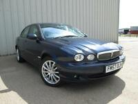 2007 (57) JAGUAR X TYPE 2.0 DIESEL MANUAL LEATHER 1 OWNER