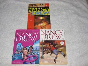 NANCY DREW - CHAPTERBOOKS - CHECK IT OUT!