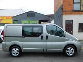 Finance Available & NO VAT! Renault Trafic 2.0TD Sport SWB 6 seat factory fitted crew van (20)