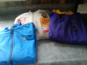 3 Youth Hoodies for sale