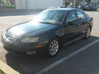 2004 SAAB 9-3 ARC 2.0T FWD AUTOMATIC, ALL LEATHER