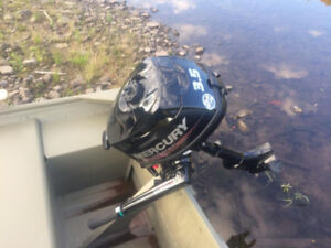 3.5hp mercury outboard brand new