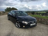 2010 Audi A4 2.0 Tdi SE start/stop £30 Tax New Alloys. Finance Available