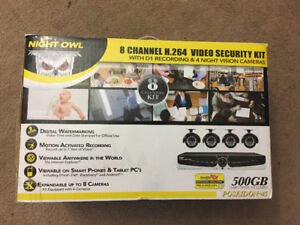 Night owl security  DVR