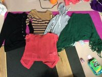 Pack of five tops and 1 skirt