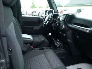 2011 Jeep Wrangler Sport 4x4 with 3 piece hardtop, clean! London Ontario image 3
