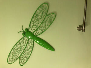 Insect/Reptiles Metal Wall Decoration (HomeSense)