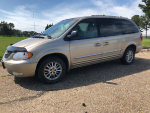 2002 Chrysler Town & Country Limited Fully Loaded