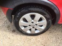 Vauxhall corsa sxi alloy wheels