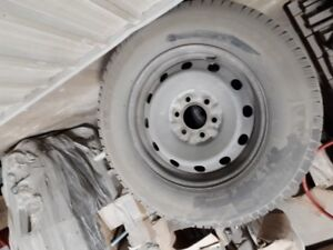 Ford F150 snow tires on rims