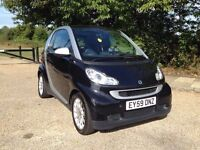 SMART FORTWO PASSION DIESEL AUTOMATIC 2009. ONLY DONE 39k. DRIVES PERFECT