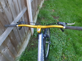 Specialized mountain bike 24gears an alloy light weight frame