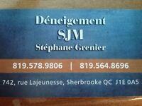 Déneigement SJM Résidentiel,commercial,indutriel,locatif