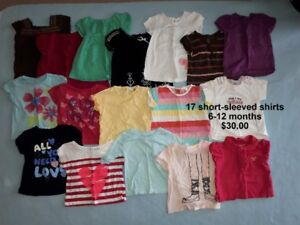 Baby Girl Clothes - Size 6-12 Months