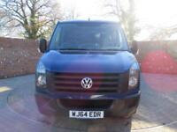 VOLKSWAGEN CRAFTER 35 TDI DOUBLECAB TIPPER LWB 136 BHP BLUETOOTH 6 SEATS