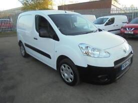 Peugeot Partner L1 850 S 1.6 Hdi 92 Van SLD DIESEL MANUAL WHITE (2014)