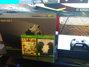Xbox One X  et 2 jeux   Real 4K Gaming