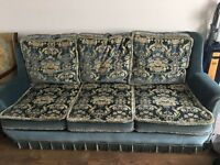 3 piece sofa and armchairs