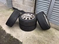 Renault Scenic Wheels And Tyres (205/50/16)