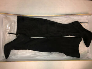 Michael Kors black high knee boots | Size 7.5