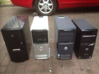 4 x personal computers