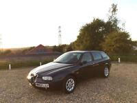 2003 Alfa Romeo 156 Sportwagon 1.8 T Spark Turismo 5 Door Hatchback Blue